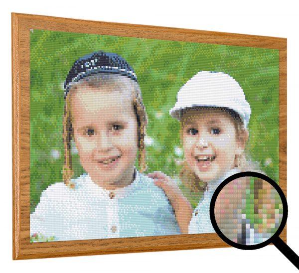 תמונת יהלומים בהתאמה אישית