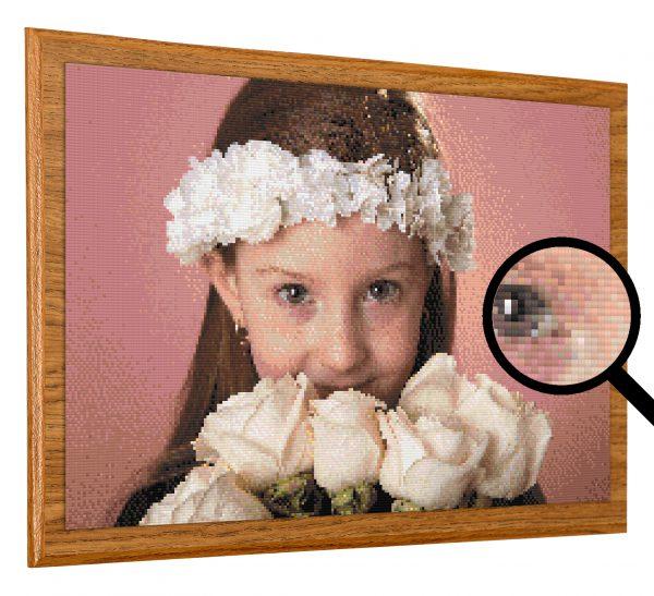 תמונת יהלומים בהתאמה אישית ממוסגרת מראש